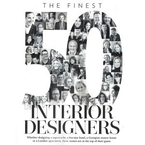 Country & Town<br>Interiors<br>50 Finest Interior Designers 2018