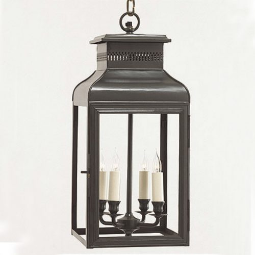 Lantern <br>Charles Edwards<br> – <br>1 item <br>25 x 25 x 55cm drop<br> – <br>£900.00 per item