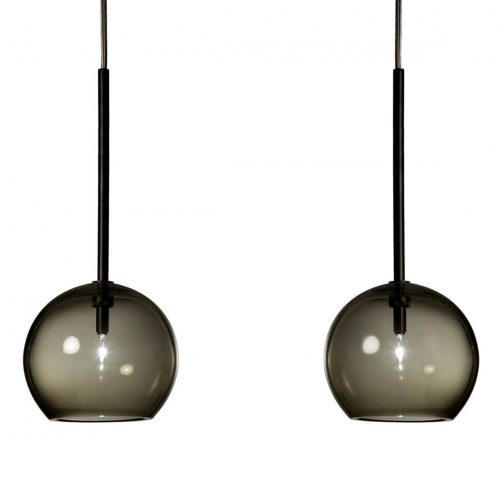 Pair of  Pendant Lights – black<br>Refer & Staer<br>–<br>2 items<br>–<br>£100 per item