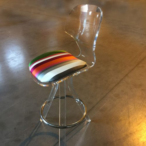 Perspex Bar Stools<br>Vintage<br>&#8211;<br>2 items<br>seat H76cm<br><br>£350 per item
