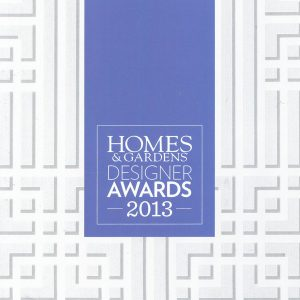 Homes &#038; Gardens<br>Interior Designer of the Year Award