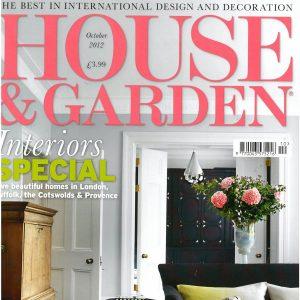 House & Garden<br>October 2012