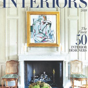 Country &#038; Town<br>Interiors<br>50 Finest Interior Designers 2018